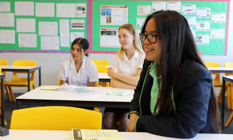 The Rosalind Franklin STEM Ambassadors web resource developed by UCL
