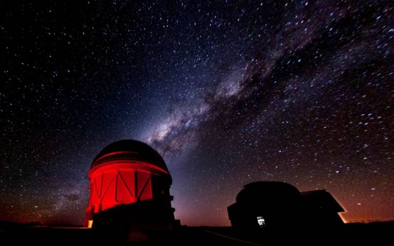 The Cerro Tololo Inter-American Observatory, which houses the Dark Energy Camera. (Credit: Fermilab.)