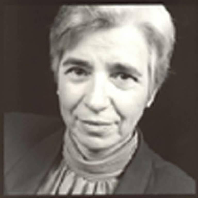 Professor Susan Hockey, Director of UCL's School of Library, Archive & Information Studies