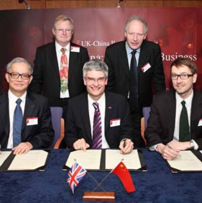 China-UK MoU
