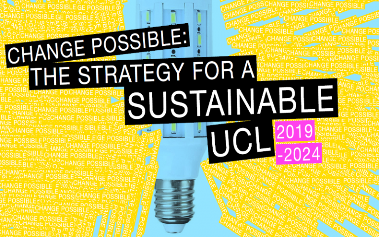 UCL launches bold new sustainability strategy