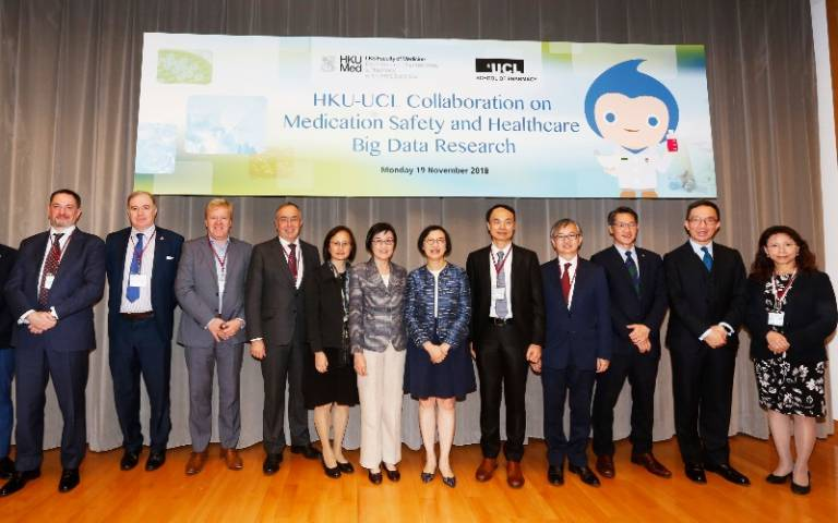 UCL and Hong Kong University enter into strategic health partnership
