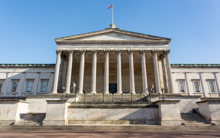 an image of the UCL portico