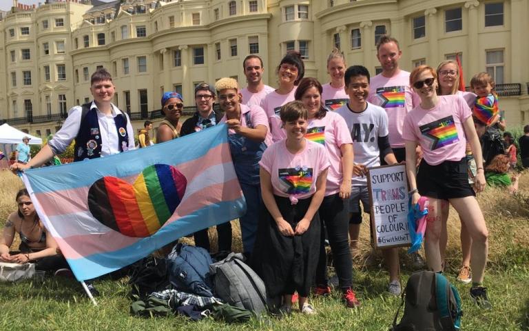 UCL at Trans Pride 2019