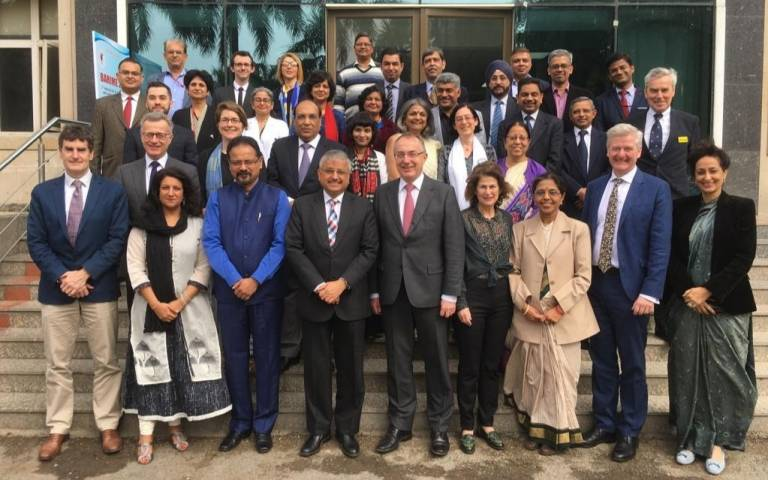 Launch of UCL and AIIMS partnership