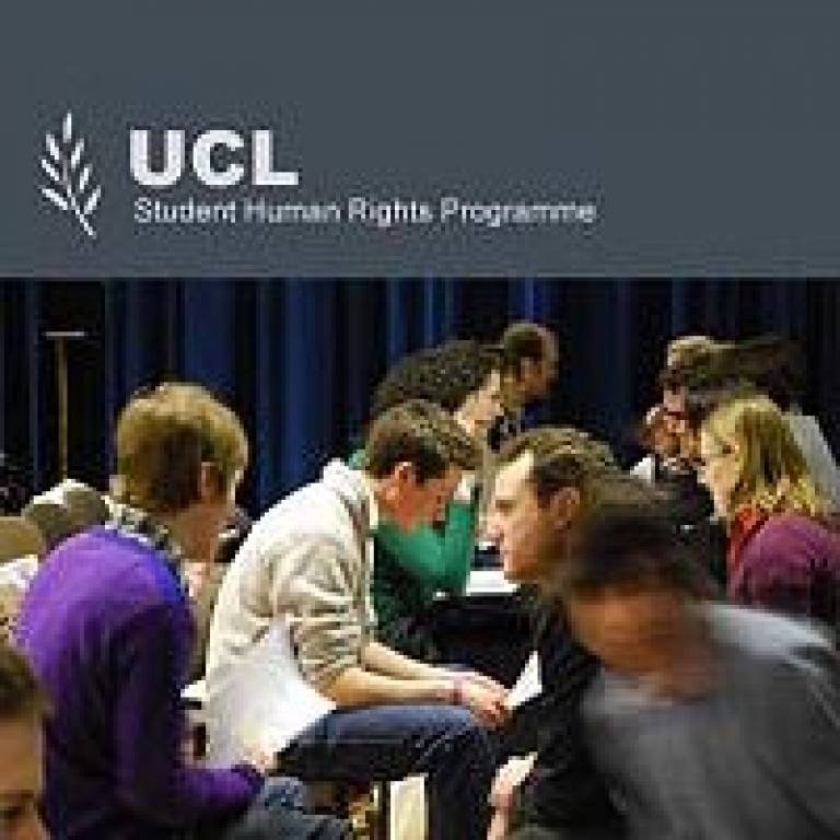 UCL Student Human Rights Programme