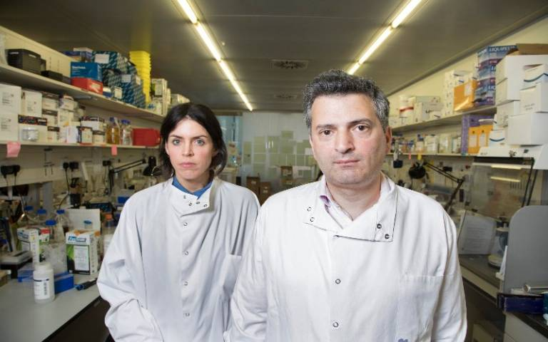 Dr Martin Pule and Dr Claire Roddie of UCL Cancer Institute
