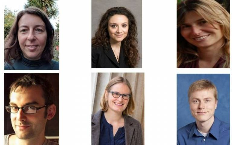 Six ERC Consolidator Grant recipients