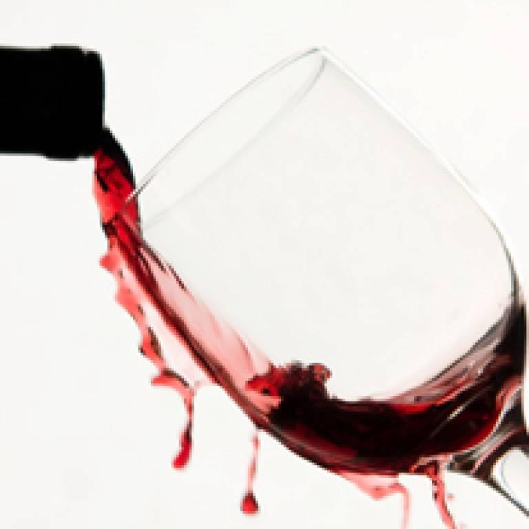 wine spillage