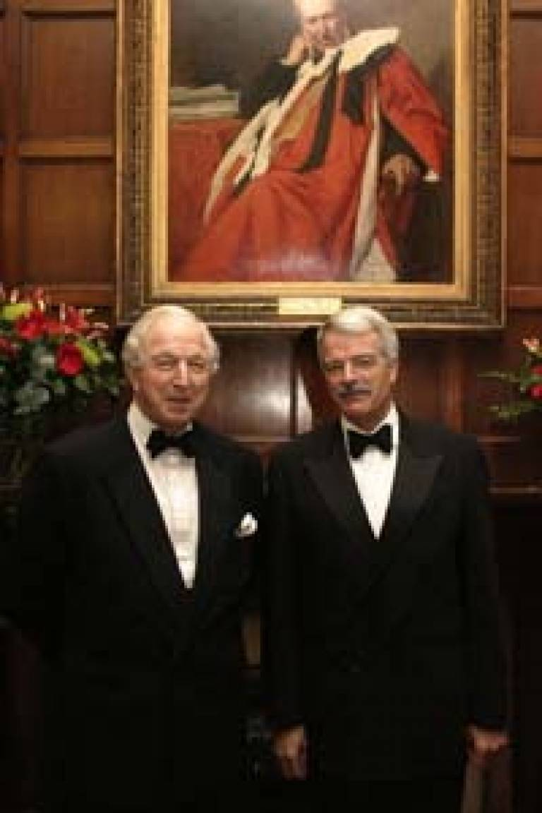 Lord Woolf and Professor Grant