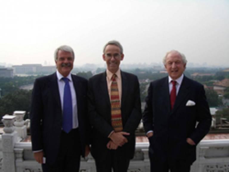 Professor Grant, Lord Woolf, Sir Christopher Hum
