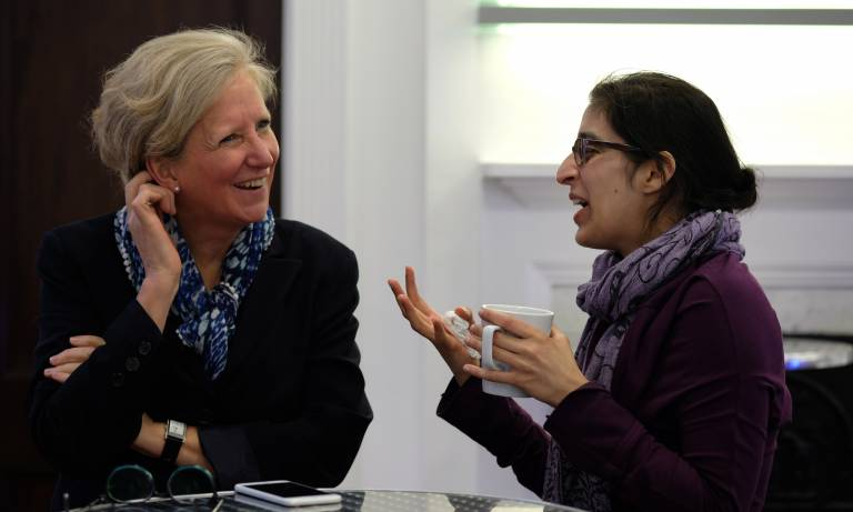 Sarah Coupland in conversation at Women in Vision UK