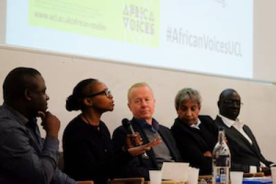 Africa Voices panel