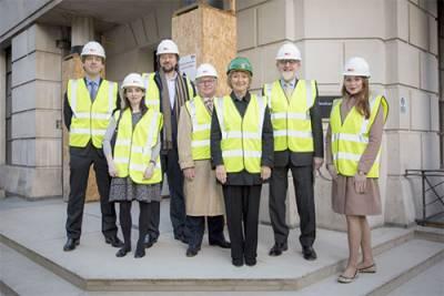 Dame Hazel Genn with UCL Laws alumni