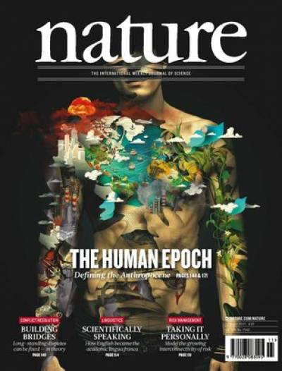 Nature Anthropocene cover