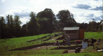 Excavation of the Anglo-Saxon beacon