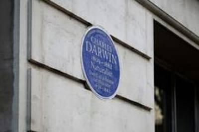 Charles Darwin heritage plaque