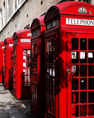 Red Telephone Booths_by Fahim Ahmed, London 2019