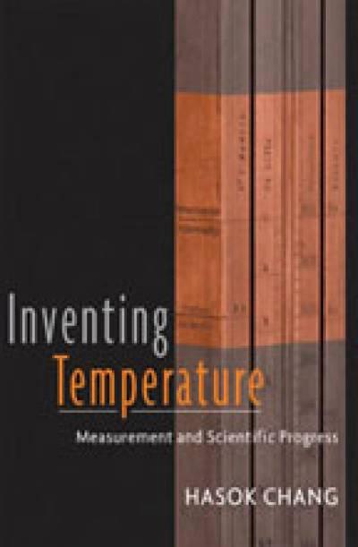 'Inventing Temperature' jacket design