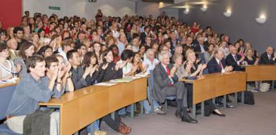 Professor Evans' sell-out lecture
