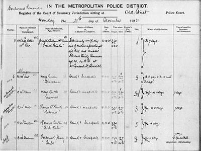 Orwell Court Record