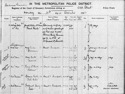 Orwell Court Record