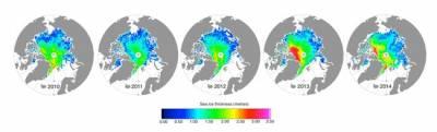 sea ice thickness