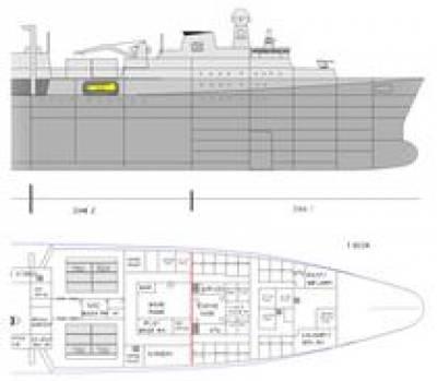 Ship blueprint
