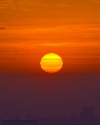 visible sunspot