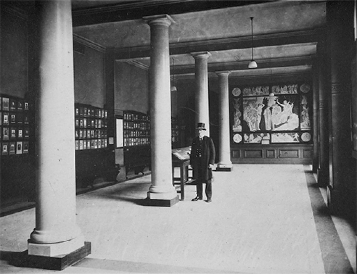 South Cloisters after WWI