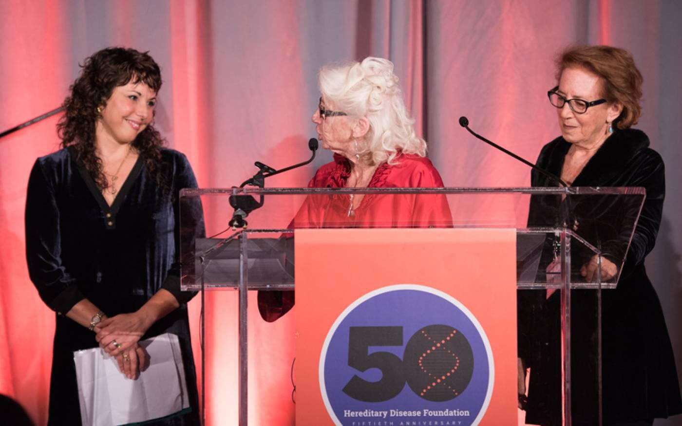 Sarah Tabrizi, Nancy Wexler, Alice Wexler