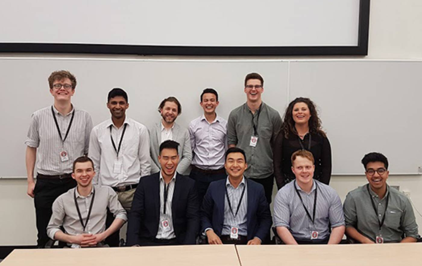The team behind the 2017 UCL MedTech Conference
