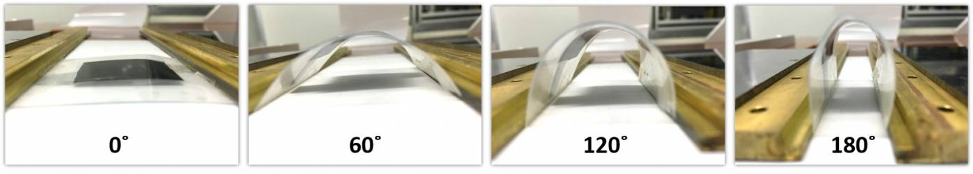 bending at 180 degrees