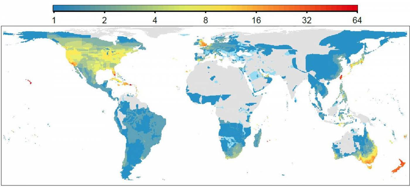 species richness map