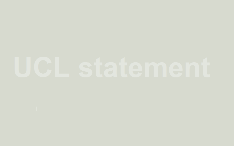 UCL statement in response to media reports on regenerative