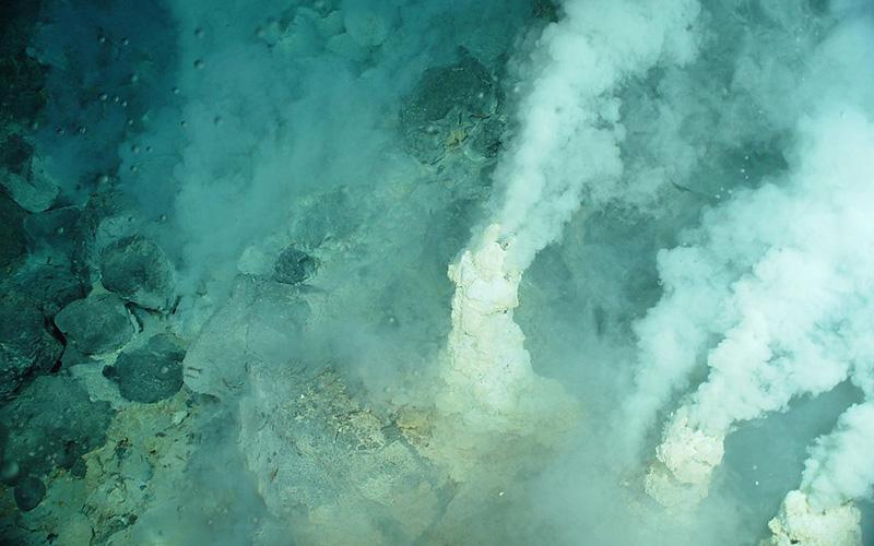 Volcanic vents