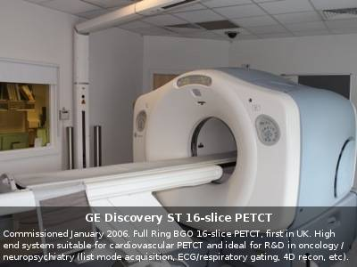 GE Discovery ST 16-slice PETCT
