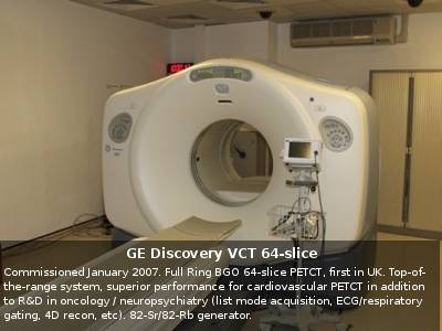 GE Discovery VCT 64-slice