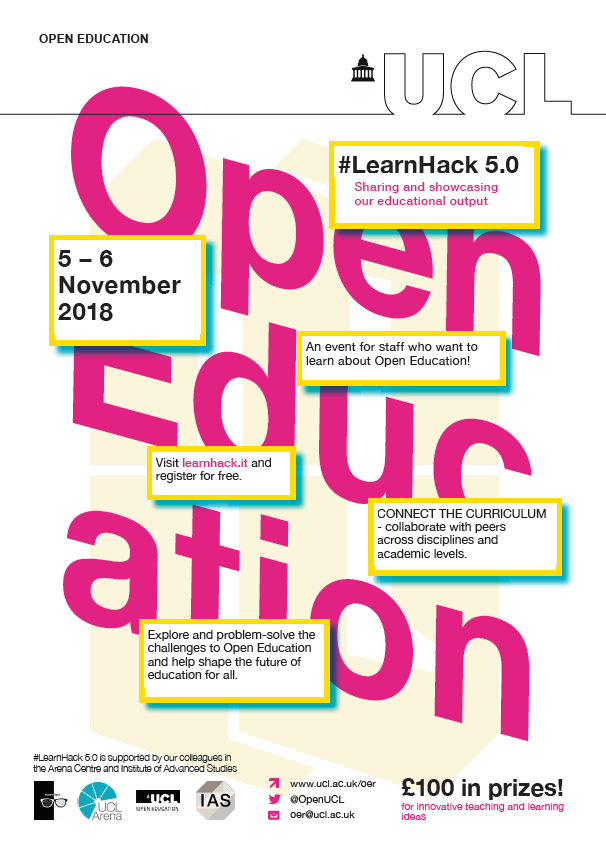 LearnHack poster