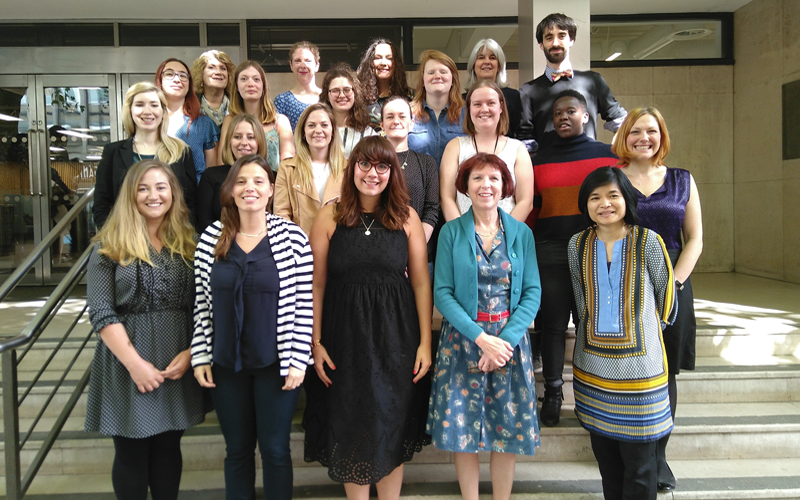 Health Psychology Research Group full team photo