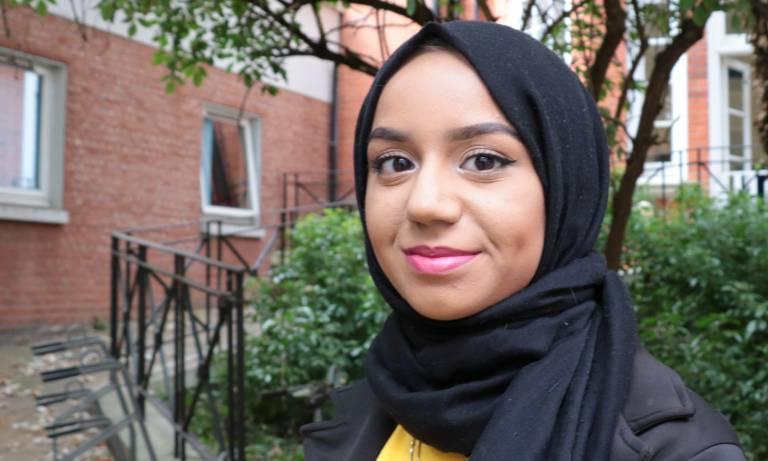 Khadija Zainab Nabi, BSc Psychology and Language Sciences