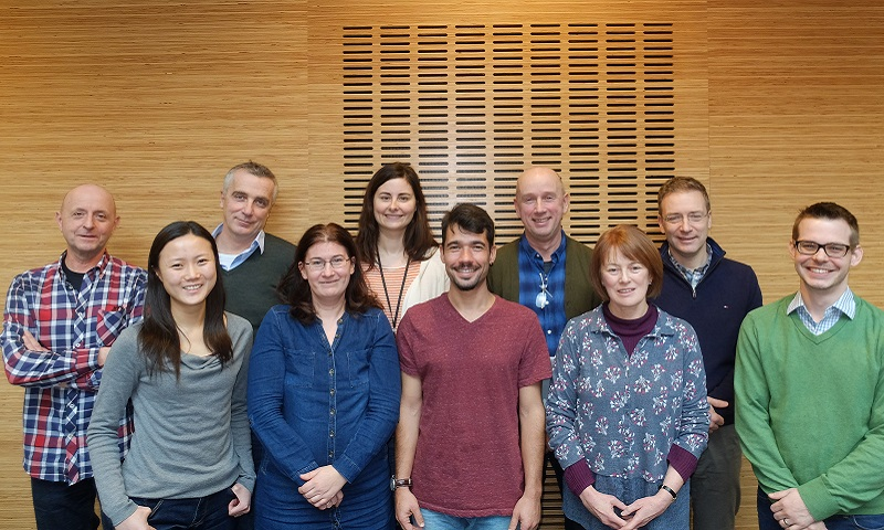 Linguistics staff group photo