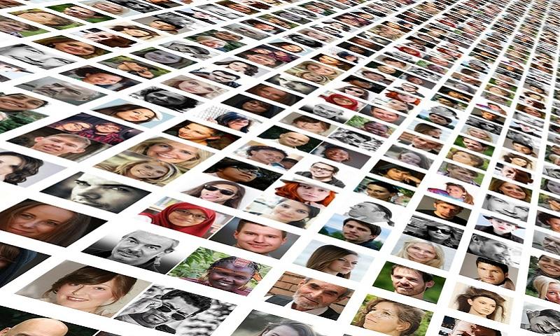 Montage of staff profile photos
