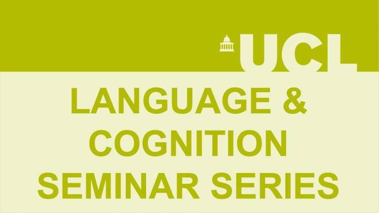 Language and Cogniiton Seminar series logo