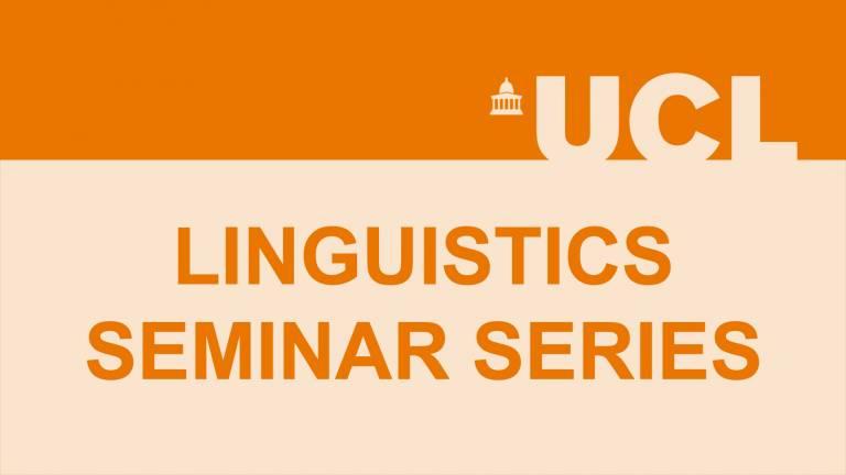 Linguistics seminar