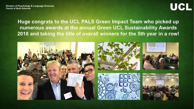 UCL PALS Green Impact