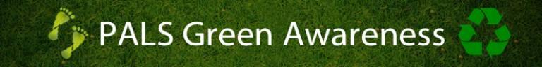 PaLS Green Awareness page header