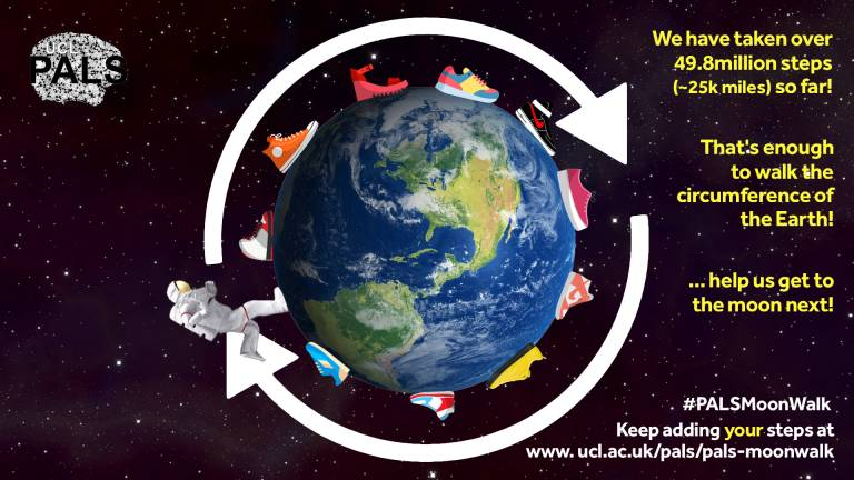 PALS MoonWalk - Earth Lap