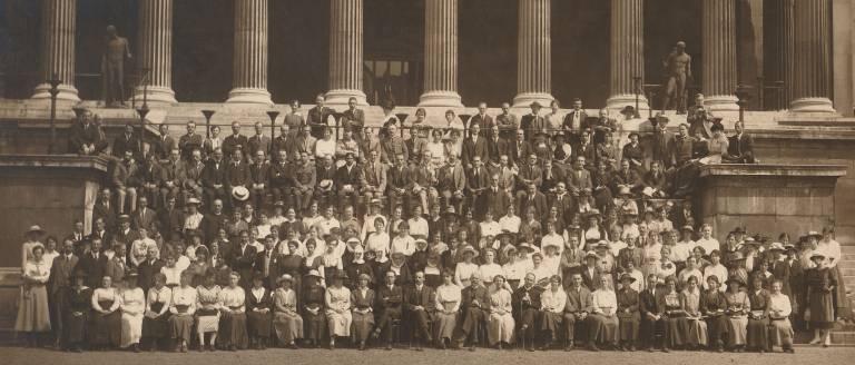 scep 1919 portico group photo