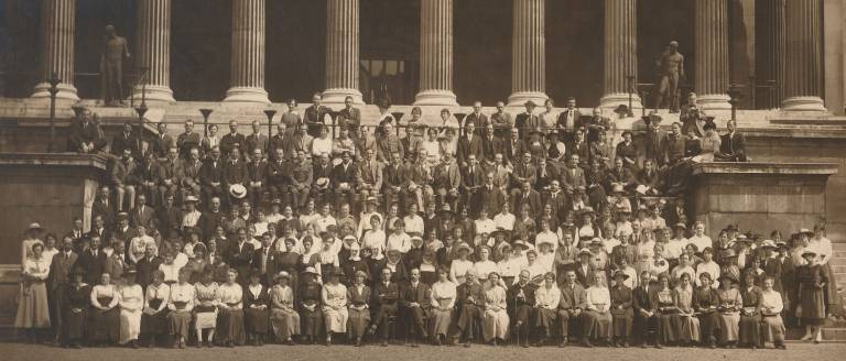 scep 1919 portico group photo
